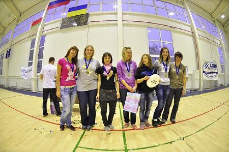 Команда Шестое Солнце натурнире СМАРТ 2011 (Микс дивизион, 5/8)