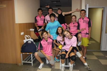 Команда Moscow Sharks натурнире СМАРТ 2011 (Микс дивизион, 6/8)