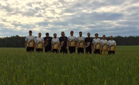 Команда Gigolo натурнире Брест без границ 2015 (ОД, 9/12)