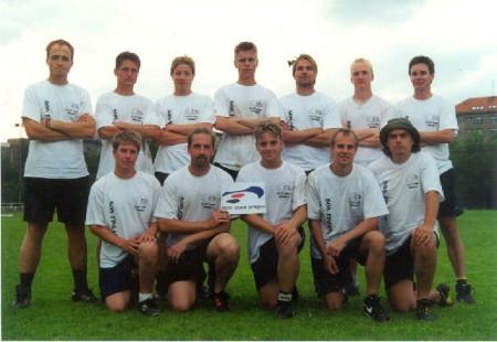 Команда Sipoo Odd Stars Finland натурнире EUC 2001 (ОД, 12/27)
