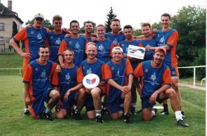 Команда Ju-Piter Russia натурнире EUC 2001 (ОД, 24/27)