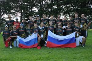 Команда Russia натурнире WJUC 2012 (U20 Open, 12/20)