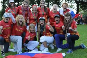 Команда Russia натурнире WJUC 2012 (U20 Women, 11/15)