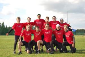 Команда Flying Steps натурнире 2й этап Финской Лиги 2012 (ОД, 9/10)