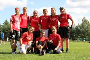 Команда Flying Steps натурнире 2й этап Финской Лиги 2012 (ЖД, 9/9)