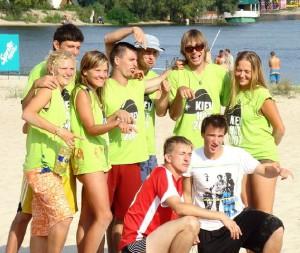 Команда САЛАТ натурнире Kiev Hat 2007 (1 дивизион, 2/8)