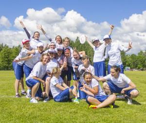 Команда Brillinace натурнире 1й этап Финской Лиги 2014 (ЖД, 4/10)