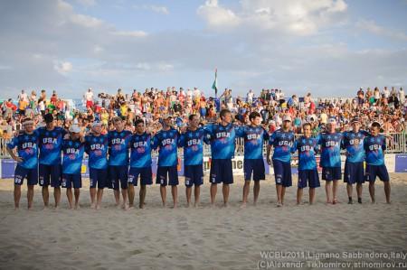 Команда United States натурнире WCBU 2011 (ОД, 1/18)