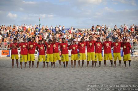 Команда Philippines натурнире WCBU 2011 (ОД, 2/18)