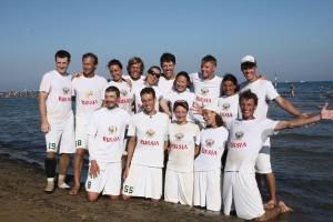 Команда Russia натурнире WCBU 2011 (Микс дивизион, 15/22)