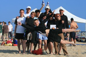 Команда Bivni на турнире Bibione Beach Co-Ed Challenge 2007 (Микс дивизион, 9/22)