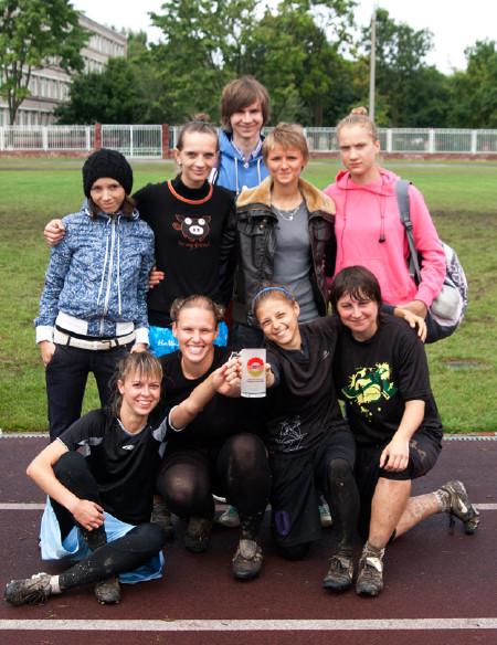 Команда Шестое Солнце натурнире Чемпионат Беларуси 2011 (ОД, 4/5)