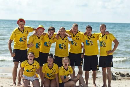 Команда Marių Meškos натурнире Sun Beam 2013 (Микс дивизион, 1/5)