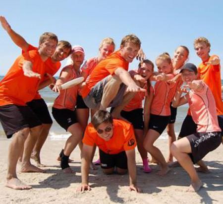 Команда Ultimate Decision натурнире Sun Beam 2013 (Микс дивизион, 3/5)