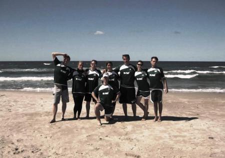 Команда ZERO натурнире Sun Beam 2012 (Микс дивизион, 8/10)