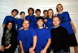 Команда Wild West натурнире Winter Brest 2011 (ОД, 11/16)