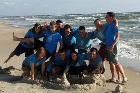 Команда RJP Squad натурнире Sun Beam 2012 (Микс дивизион, 9/10)