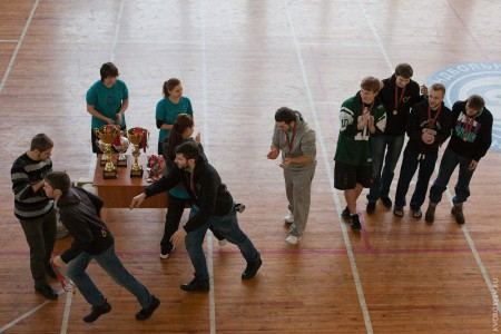 Команда Жиголо натурнире Минск 2012 (ОД, 2/16)