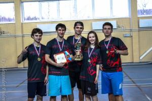 Команда МПГУ натурнире Финал студенческой лиги 2014 (ОД, 1/8)