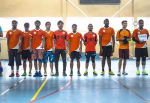 Команда РНИМУ натурнире Финал студенческой лиги 2014 (ОД, 2/8)