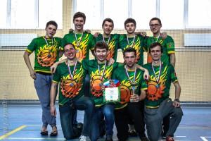 Команда МГТУ натурнире Финал студенческой лиги 2014 (ОД, 3/8)