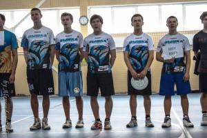 Команда НИУ ВШЭ натурнире Финал студенческой лиги 2014 (ОД, 5/8)