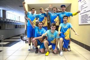 Команда ВлГУ натурнире Финал студенческой лиги 2014 (ОД, 6/8)