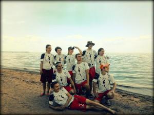 Команда Фря-Crew натурнире Вызов Питера 2015 (Микс дивизион, 9/9)