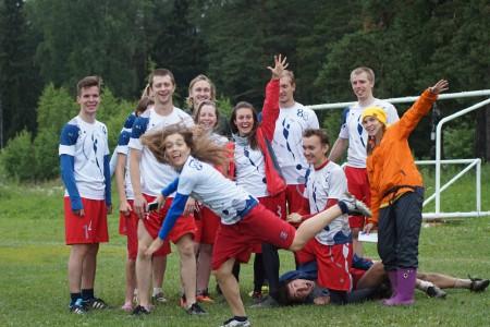 Команда ФряCrew натурнире МЧР 2015. 2 этап (Микс дивизион, 7/7)