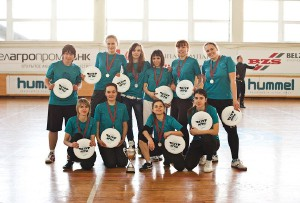 Команда Шестое Солнце натурнире Минск 2012 (ЖД, 2/7)