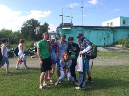 Команда Шафл натурнире Пески Сибири 2015 (ОД, 4/7)