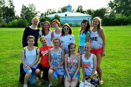 Команда Катюша Ж натурнире Пески Сибири 2015 (ОД, 7/7)