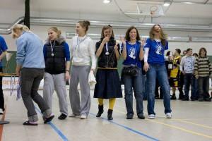 Команда Бриллианс натурнире Kick in de Kök 2009 (ЖД, 2/9)