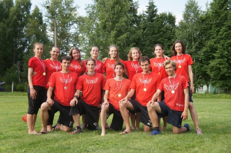 Команда Flying Steps натурнире 1 этап МЧР 2013 (Микс дивизион, 1/6)