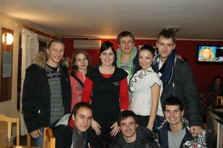 Команда Red Lions натурнире Can Touch Disc 2012 (ОД, 4/14)