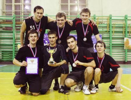 Команда НГТУ натурнире  Летящий SpiNN 2011 (ОД, 2/14)