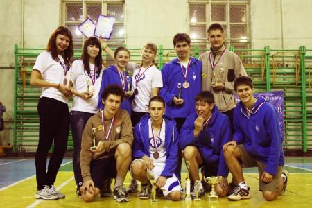 Команда МарГТУ натурнире  Летящий SpiNN 2011 (ОД, 3/14)