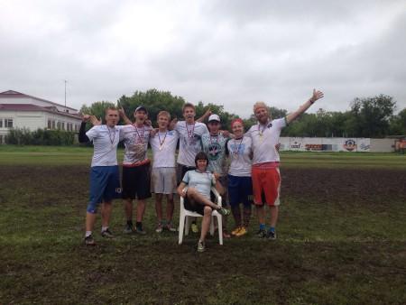 Команда Белые натурнире Шапка Мономаха 2015 (Микс дивизион, 1/9)