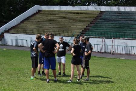Команда Немиза натурнире Шапка Мономаха 2015 (Микс дивизион, 8/9)