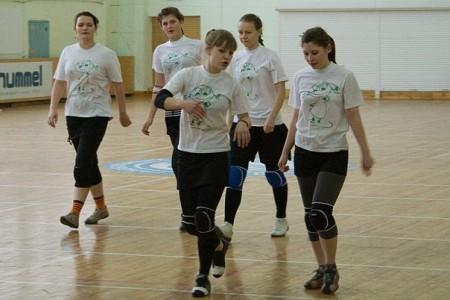 Команда Гриночки натурнире Минск 2010 (ЖД, 6/6)