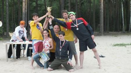 Команда Pacmans натурнире Пески Сибири 2012 (ОД, 2/7)