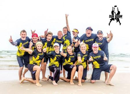 Команда Vorai натурнире Sun Beam 2015 (Микс дивизион, 1/9)