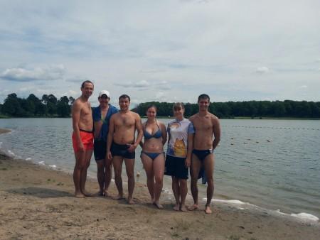 Команда Йошкин Кэтс натурнире Самый Песок 2015 (ОД, 7/12)