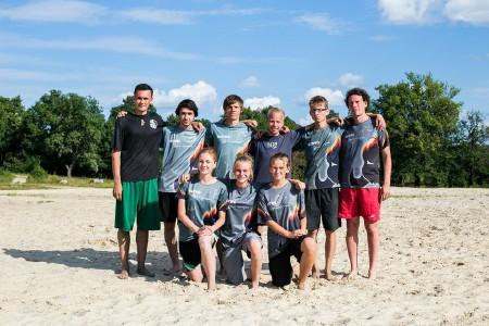 Команда Rush натурнире Самый Песок 2015 (ОД, 6/12)