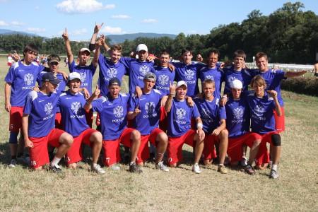 Команда Russia натурнире World U23 2010 (ОД, 11/15)