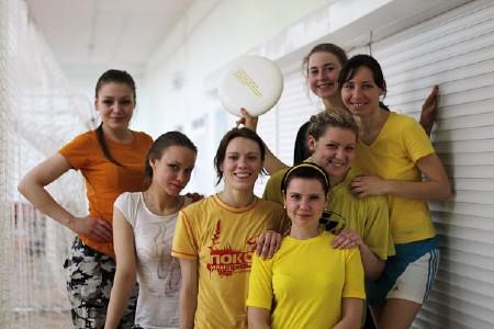 Команда Зорачкi натурнире Закрытие зального сезона 2010 (ЖД, 2/5)