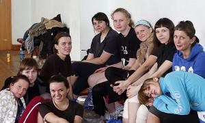 Команда МRОЯ натурнире Закрытие зального сезона 2010 (ЖД, 4/5)