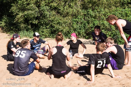 Команда A3 черные натурнире Beach Games 2015 (Микс дивизион, 3/6)