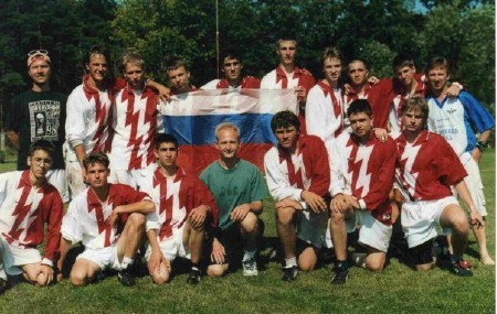 Команда Russia натурнире WJUC 2002 (U20 Open, 4/7)