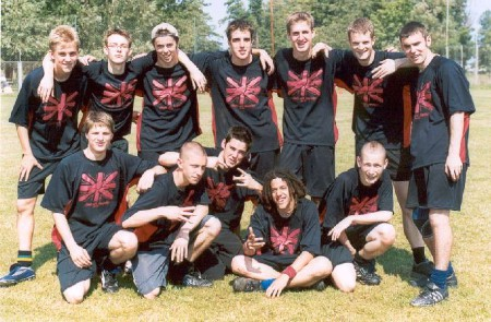 Команда Great Britain натурнире WJUC 2002 (U20 Open, 5/7)